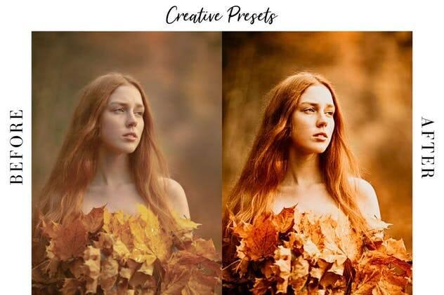 Image of Autumn Lightroom Mobile Presets