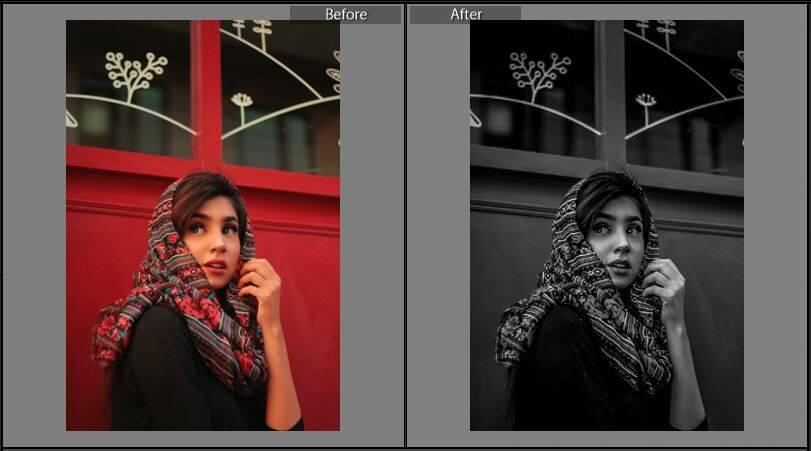 Image of Black & White HDR Lightroom Presets